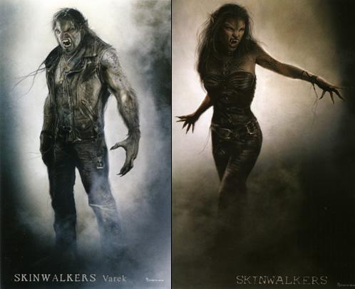 Arte Conceptual de Skinwalkers